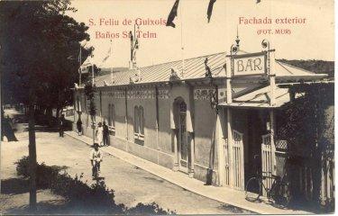 A Sant Feliu hi ha l'edifici dels banys de mar més antics de la Costa Brava?