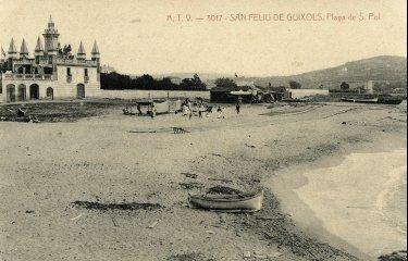 La platja de S'Agaró no existeix?