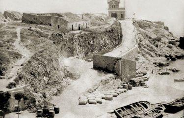 Durant el segle XVII el turó on hi ha el Salvament va servir com a cementiri d'apestats?