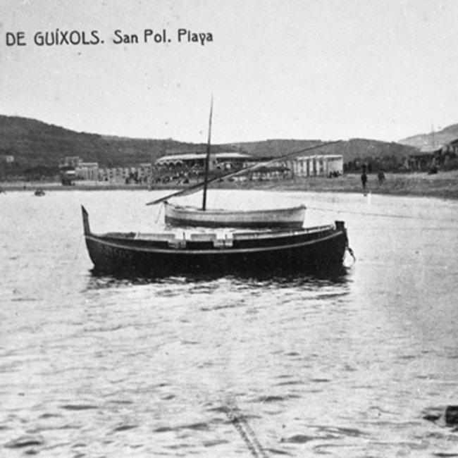 Els banys de Sant Pol. El glamur arriba a la Costa Brava