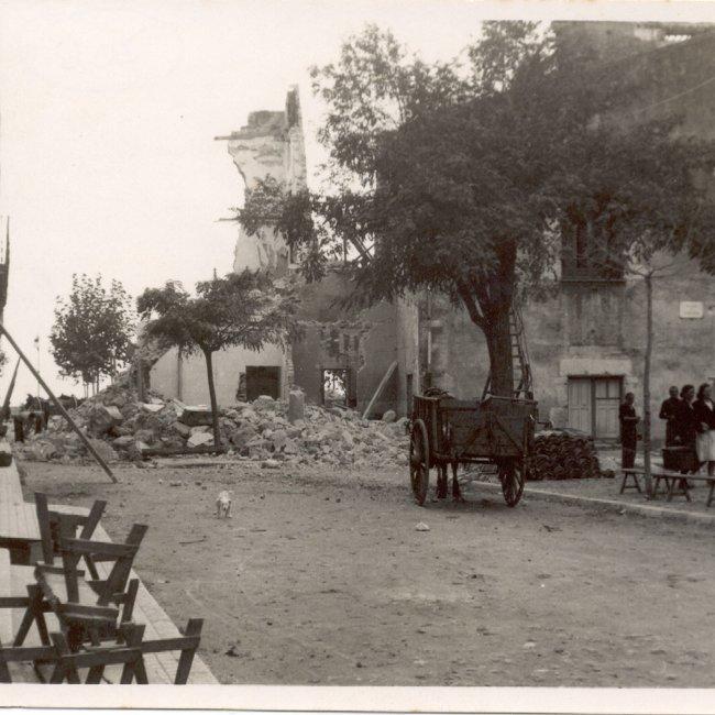 El bombardeig de l'Ajuntament de Sant Feliu. Un atac sagnant